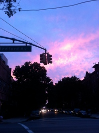 Sunset in Crown Heights