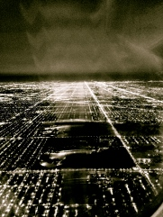 Flying back into Chicago