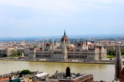 Parliament from Buda