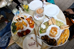 An amazing Mediterranean/Eastern Tapas lunch