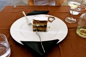 Gibanica - apple, raisin, walnut, poppyseed layer cake
