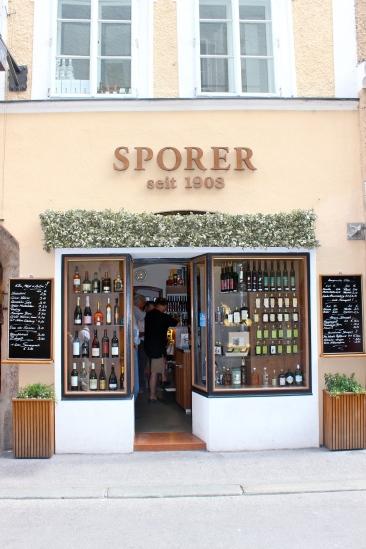 Famous liquor shop