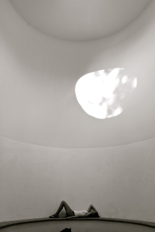 Life inside a James Turrell installation