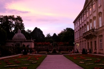 Mirabell Palace at sunset