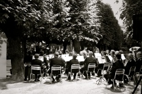 A concerts in Mirabell gardens