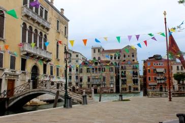 A festive piazza
